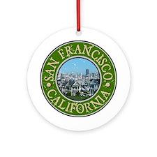 San Francisco, California Ornament (Round)