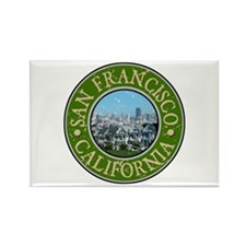 San Francisco, California Rectangle Magnet