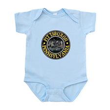 Pittsburgh, Pennsylvania Infant Bodysuit