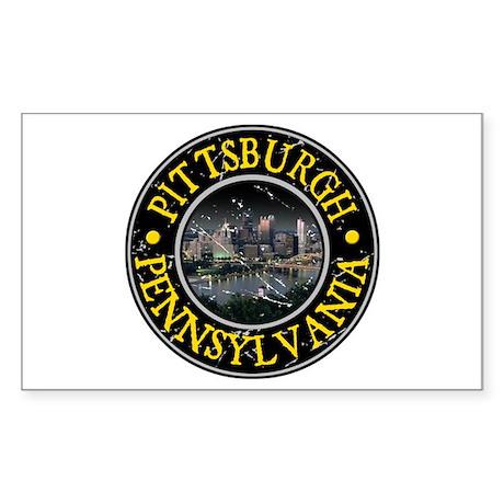 Pittsburgh, Pennsylvania Sticker (Rectangle)