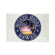 North Shore, Hawaii Rectangle Magnet