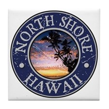 North Shore, Hawaii Tile Coaster