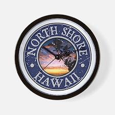 North Shore, Hawaii Wall Clock