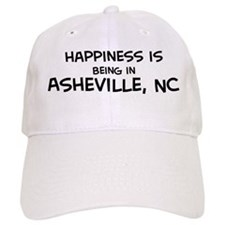 Happiness is Asheville Baseball Cap
