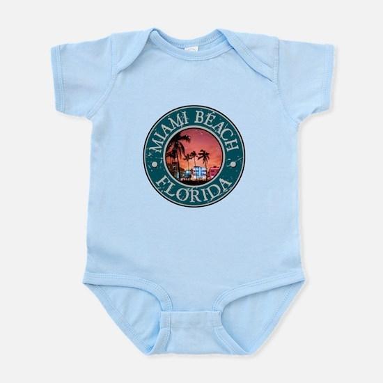 Miami Beach, Florida Infant Bodysuit
