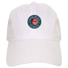 Miami Beach, Florida Baseball Cap