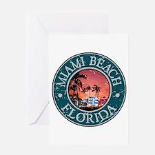 Miami Beach, Florida Greeting Card