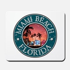 Miami Beach, Florida Mousepad