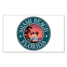 Miami Beach, Florida Decal