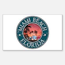 Miami Beach, Florida Decal