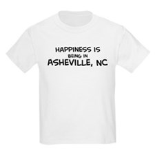 Happiness is Asheville Kids T-Shirt