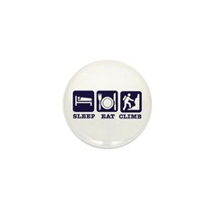 Sleep eat climb Mini Button (10 pack)
