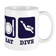 Sleep eat scubadive Mug