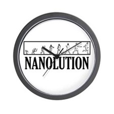Nanolution Wall Clock