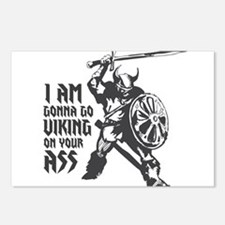 I'm gonna go Viking Postcards (Package of 8)