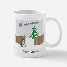 Cowboy Christmas Mug