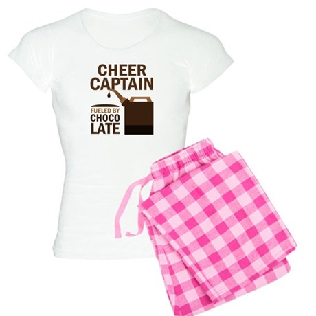 Cheer Captain Chocoholic Gift Women's Light Pajama