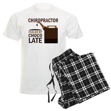 Chiropractor Chocoholic Gift Men's Light Pajamas