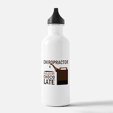 Chiropractor Chocoholic Gift Water Bottle