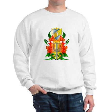 Color Disc Golf Coat of Arms Sweatshirt