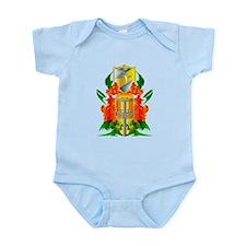 Color Disc Golf Coat of Arms Infant Bodysuit