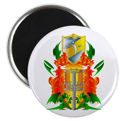 Color Disc Golf Coat of Arms Magnet