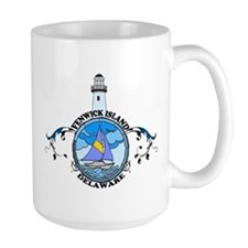 Fenwick Island DE - Lighthouse Design Mug