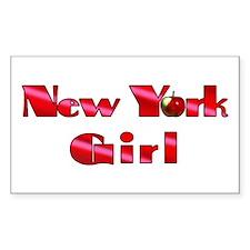 New York Girl Decal