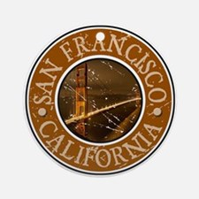 San Francisco, California Ornament (Round)