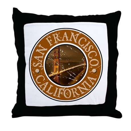 San Francisco, California Throw Pillow