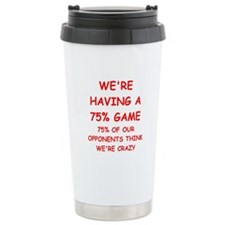 Duplicate bridge Travel Mug