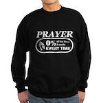 Prayer 0 percent Sweatshirt (dark)