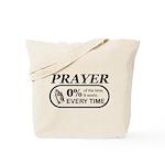 Prayer 0 percent Tote Bag
