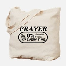 Prayer 0 percent Tote Bag