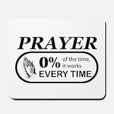 Prayer 0 percent Mousepad