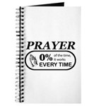 Prayer 0 percent Journal