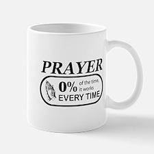 Prayer 0 percent Mug