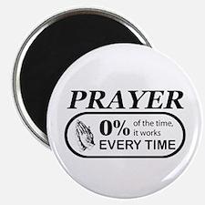Prayer 0 percent Magnet
