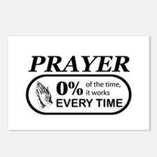 Prayer 0 percent Postcards (Package of 8)