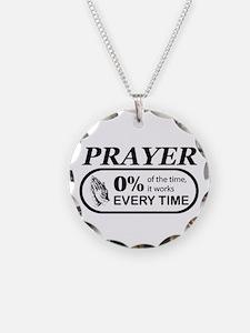 Prayer 0 percent Necklace