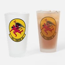 107th Fighter Squadron Drinking Glass