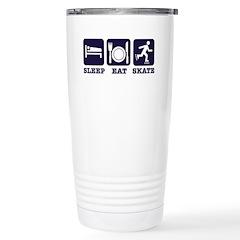Sleep eat skate Travel Mug
