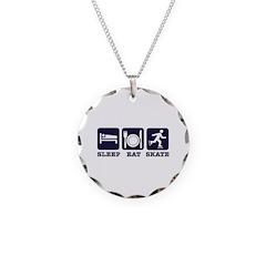 Sleep eat skate Necklace