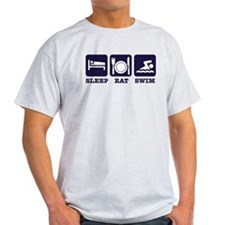 Sleep eat swim T-Shirt