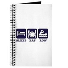 Sleep eat row Journal