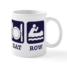 Sleep eat row Small Mug
