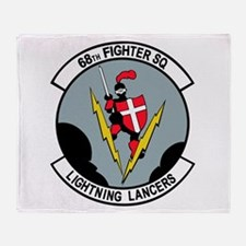 68th Fighter Squadron Throw Blanket