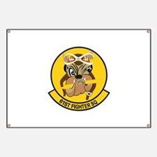 61st Fighter Squadron Banner