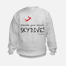 Elevate Your Mood Skydiver Sweatshirt