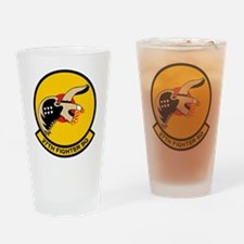 27th Fighter Squadron Drinking Glass